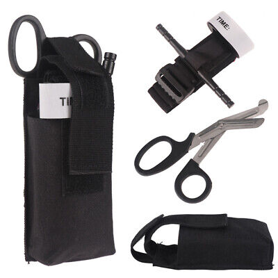 Outdoor Camping Survival Gear Kits tourniquet set Emergency EDC Tool First Aid-