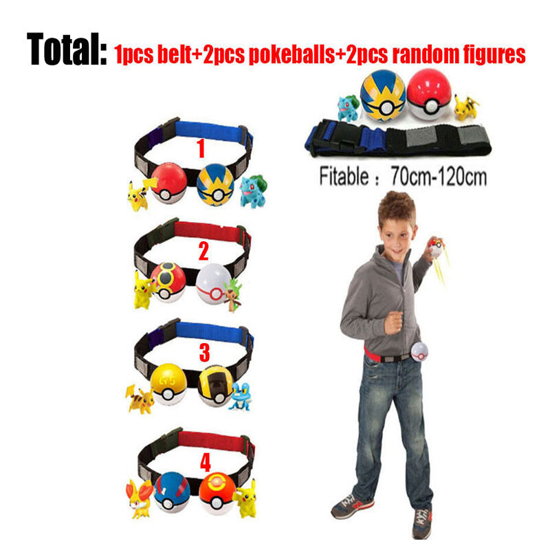New Pokemon Pokeball Cosplay Pop-up Poke Ball Pikachu Fun Toy Kids Children Gift