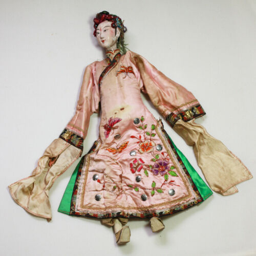 Rare Old Antique Chinese Opera Doll Large Size / OD004