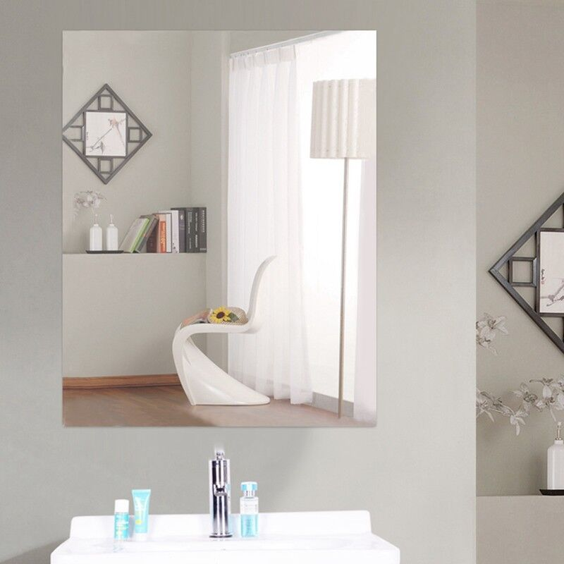 Reflective Mirror Stickers Self-adhesive Wall Decal Sticker