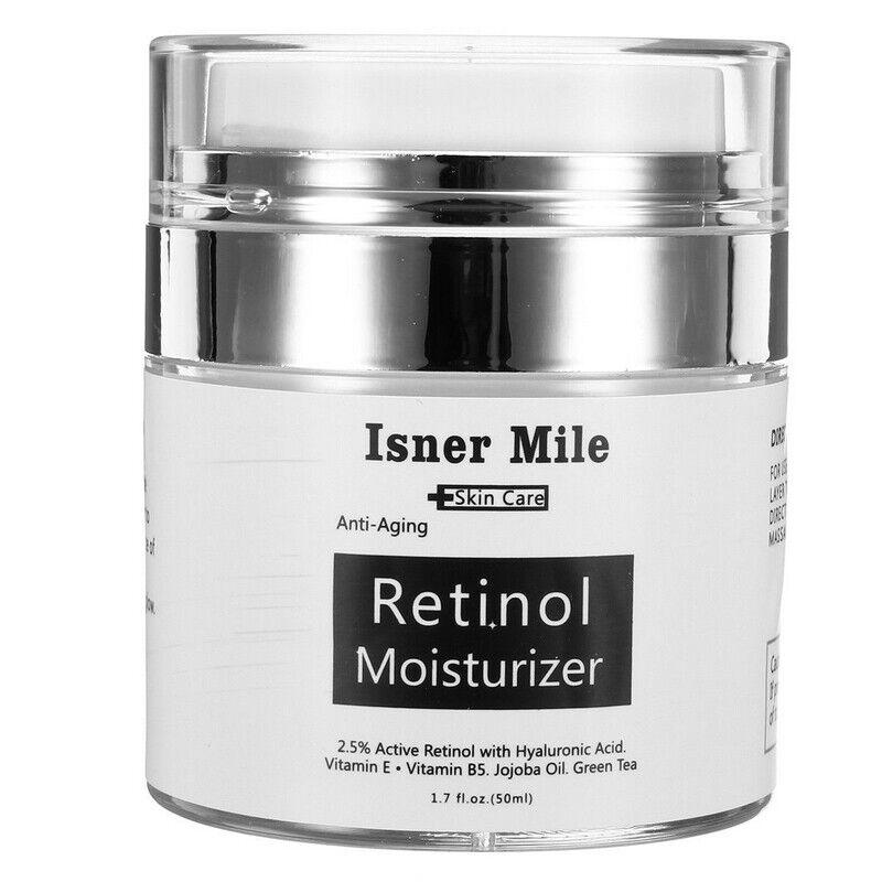 2.5% Retinol mit Hyaluronsäure Creme Gesicht Anti Aging Falten Vitamin E & B5