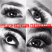 Eyelash extension certification