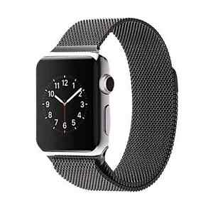 Apple Watch Stainless Steel Strap band Milanese Loop Watch band.