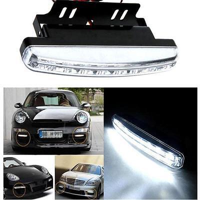 8 LED Daytime Driving Running Light DRL Car Fog Lamp Waterproof 12V WHolesale