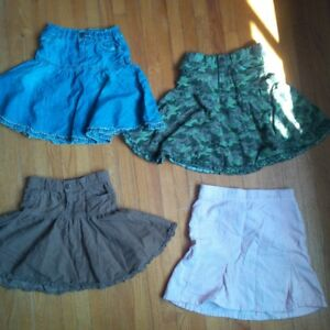 4 skirts for $5