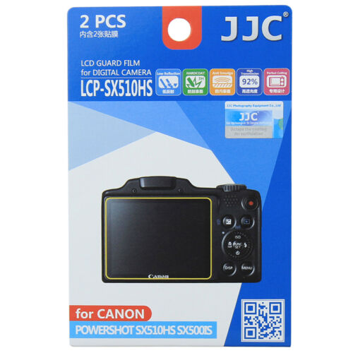 JJC LCP SX510HS LCD Camera Screen Protector For CANON
