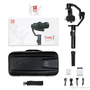 BNIB Zhiyun Crane 2 3-Axis Handheld Stabilizer for DSLR
