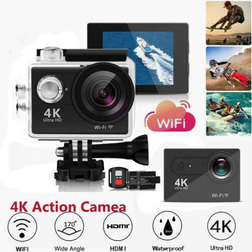 "4K 12MP 1080P 2"" Full HD WIFI Waterproof Sports DV Cam Actio"
