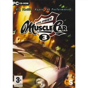 Muscle Car 3: Illegal Street. Big Thrills. Hyper-Pak Performance! PC