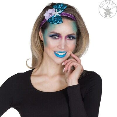 Haarband Kopfschmuck  Meerjungfrau NIXE blau Blüte Seestern - Seestern Kostüme