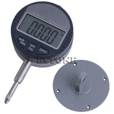 0.01mm0.0005 Range 0-12.7mm1 Gauge Digital Dial Indicator Precision Tool