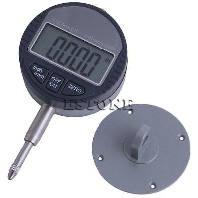 0.01mm0.0005 Range 0-12.7mm1 Gauge Digital Dial Indicator Precision Tool