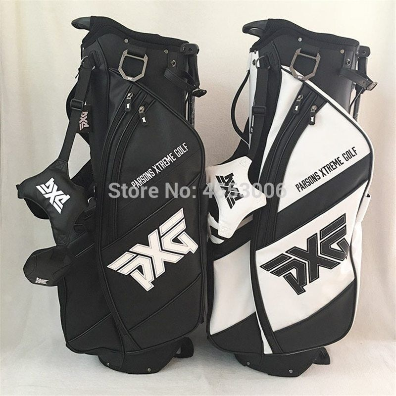 New PXG Golf Stand Bag Portable Light Weight 4 Holes Full Me