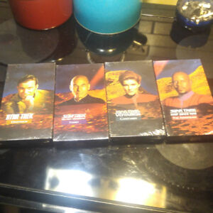 Star Trek the captains 4 vhs new and sealed tapes