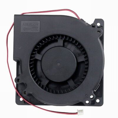 75mm x 30mm DC 12V 0.36A 2Pin Computer PC Blower Cooling Fan DT