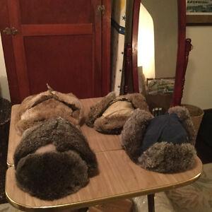 PRICE REDUCED! Vintage men's rabbit trapper hats (A058) Regina Regina Area image 6