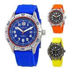 Nautica NSR 105 Silicone Mens Watch - Choose color