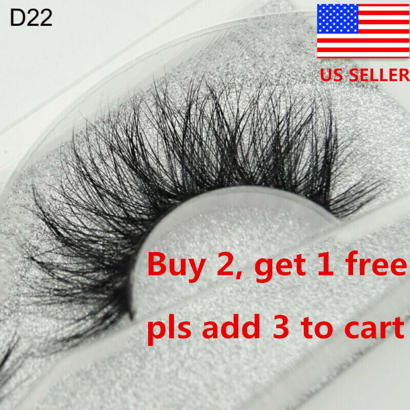 3d mink hair false eyelashes wispy cross
