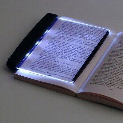 Portable LED Book Light For Night Reading Light Panel Desktop Bedroom Lamp USA