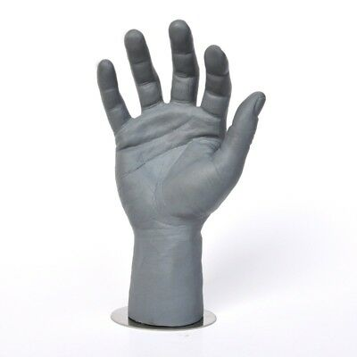 New 1pc Men Mannequin Hands Arms Display Bending Gloves Jewelry Male Model Stand