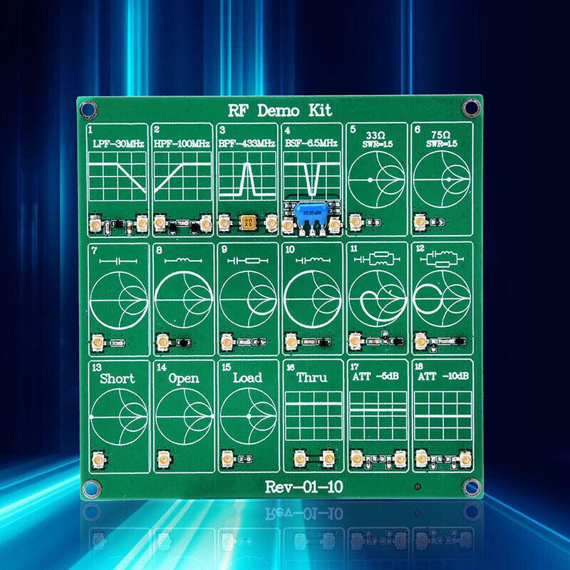 Probes RF Demo Kit NanoVNA RF Test Module Vector Network Analyzer BoardBO1EXW&SL