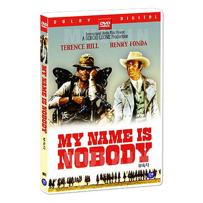My Name Is Nobody  1973  Dvd   Terrence Hill  New  Sealed  All Region