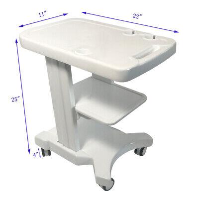 Techtongda Ultrasound Portable Mobile Trolley Cart With 4 Wheels2 Brake