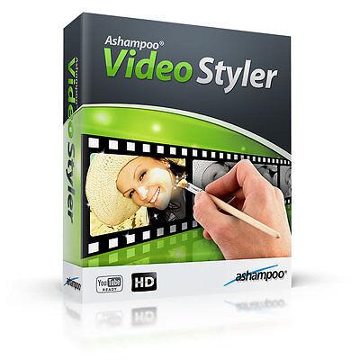 Ashampoo Video Styler deutsche Vollversion ESD Download nur 8,99 !!