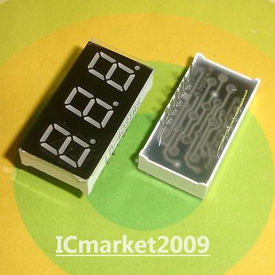 5 Pcs 3 Digit 0.4 Inch Red Numeric Led Display 7 Seg Segment Common Cathode Bit