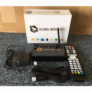 LATEST 2018 GLOBAL IPTV MEDIA BOX-ANDROID 7.1- BLUETOOTH-4K-PVR