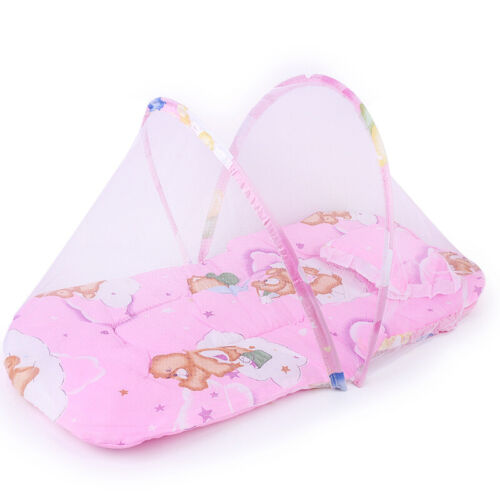 Sleeping mat with mosquito net Breeze Pink