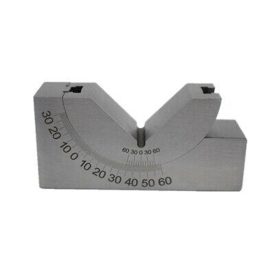 Milling Precision Mini Adjustable Angle V Block 0-60 Vice Grip Holding Clamp