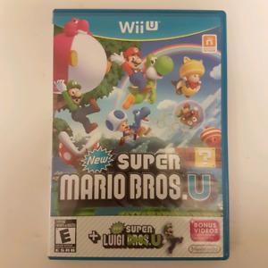 New Super Mario Bros. WII U + New Luigi U