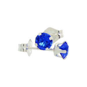Sterling Silver Swarovski Crystal Birthstone Stud Earrings $6 ea Windsor Region Ontario image 5