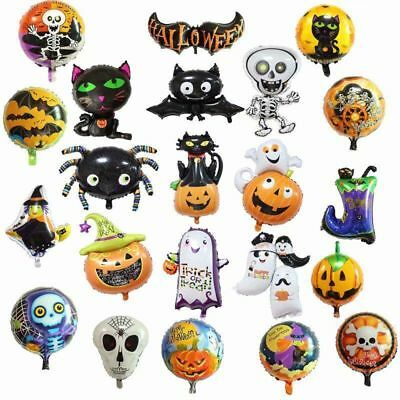 Halloween Foil Balloon Pumpkin Party Home Decor For Kids Xmas Gift Decoration - Kids Halloween Party Decorations