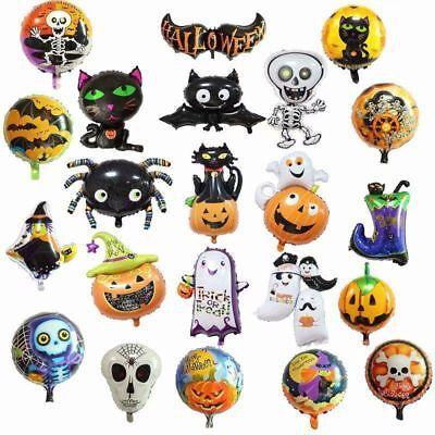 Halloween Foil Balloon Pumpkin Party Home Decor For Kids Xmas Gift Decoration UK ()