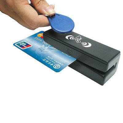 Zcs100 Rfid Readerwriter And Magnetic Stripe Card 3 Tracks Reader 13.56mhz Mx53