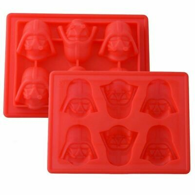 2 trays of Star Wars Darth Vader Cocktails Silicone Mould Ice Cube Tray