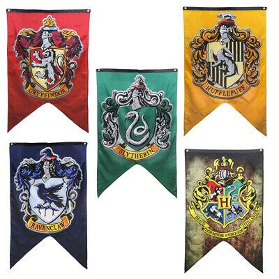 Harry Potter House Banner Flag Gryffindor Slytherin Ravenclaw Hogwarts College