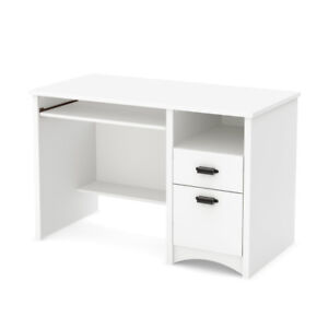 South Shore White Computer Desk   !!!BRAND NEW !!!!