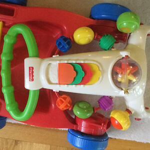 Fisher Price Convertible Walker to Wagon Toy CLEAN! EUC Strathcona County Edmonton Area image 2
