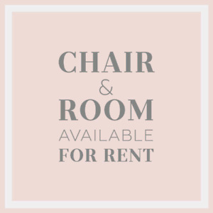 Salon Chair & Room available for rent