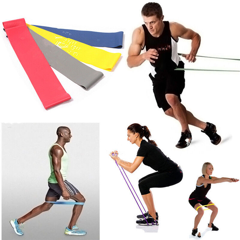 New Resistance Bands Weight Training Fitness Exercise Loop Crossfit Strength CAH