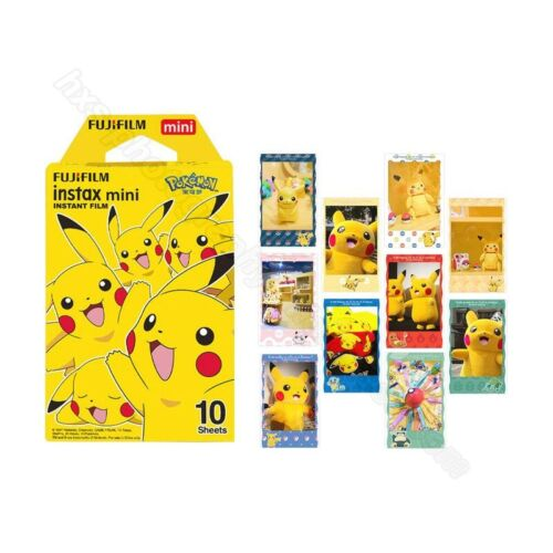 Fujifilm Instax Mini Film Instax Pokemon 10 Sheets For Mini 7 8 9 25