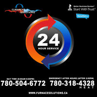 24 Hour Furnace Service Repair!!!