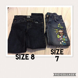 Girls Size 7 & 8 Jeans