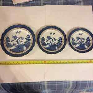 China, Real Old Willow, Booths, Plates London Ontario image 2