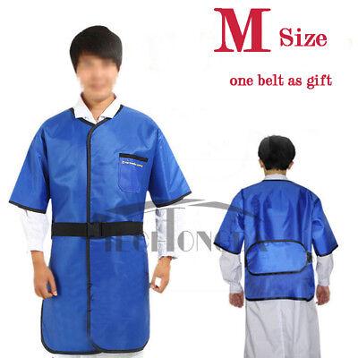 M Size 0.35mmpb X-ray Protection Apron Half Sleeve No-lead Protective Vestbelt