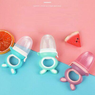 Baby nipple Fresh Food Nibbler Baby Pacifiers Feeder Kids Fruit feeding soother