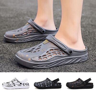 Womens Mens Sports Clogs Sandals Garden Beach Slippers Anti-